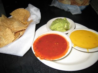 Salsa, Con Queso and Guacamole, a wonderful trio...