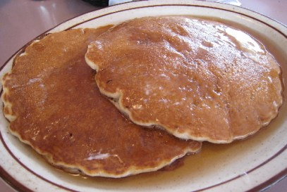 Perea's pancakes are outstanding!