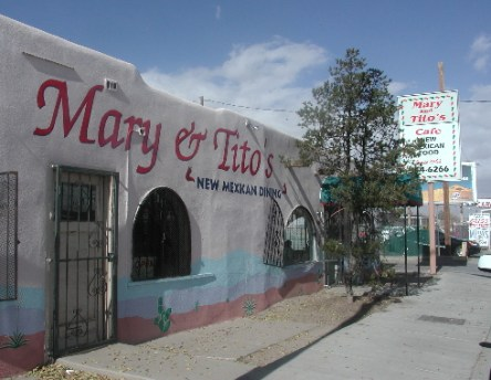 Mary & Tito's may serve the very best red chile in Albuquerque