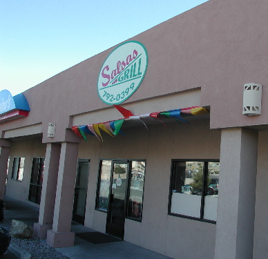 Salsas Grill serves Mexican, New Mexican and Guatamalan cuisine.