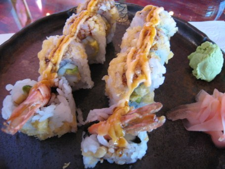 Crunchy shrimp roll