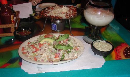 Ceviche, Discada Nortena, Horchata and more