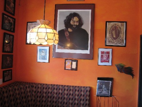 Jerry Garcia in a place of honor
