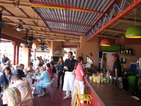 A popular dining destination
