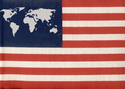 Drapeau Mondialisation