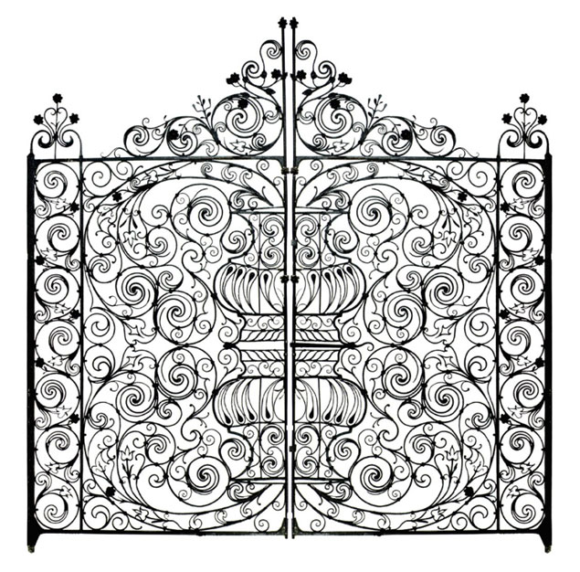 Italian Wrought Iron Gates