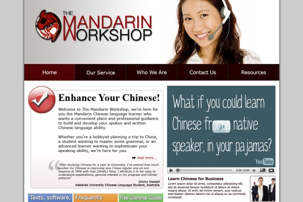 The Mandarin Workshop