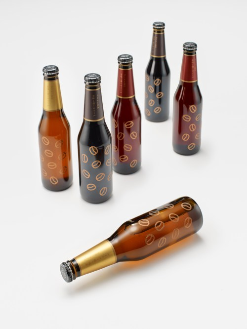 Brilliant A Small City Nendo Designed Bottles Coffee A Collaboration Between A Coffee Business Norrn Adding Coffee Beans To Beer Nogarlicnoonions