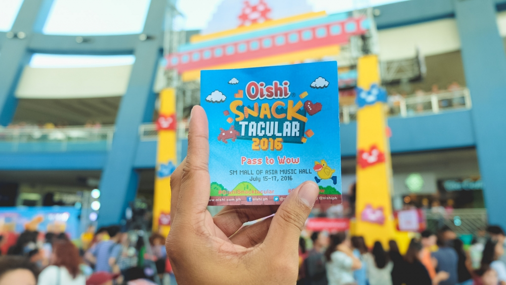 One bag isn't enough at the Oishi Snactacular 2016