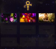 Prince's new website