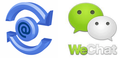 mail-for-exchange + whatsapp