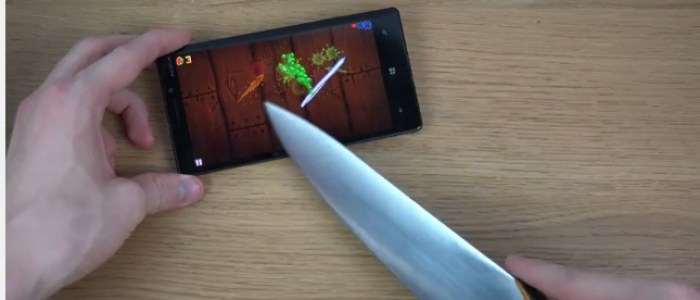 Lumia 930 knife