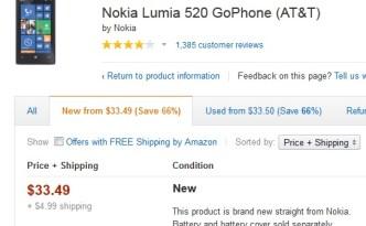 Lumia 520 deal