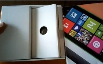 Lumia 530 unboxing