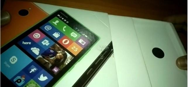 Nokia X2 unbox