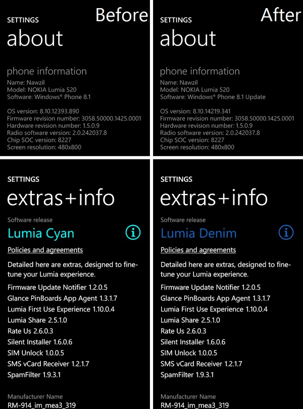 Gdr1 lumia denim update windows phone 8 1 windows phone 8 1 update 1