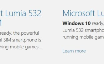 Windows 10 Lumia 532