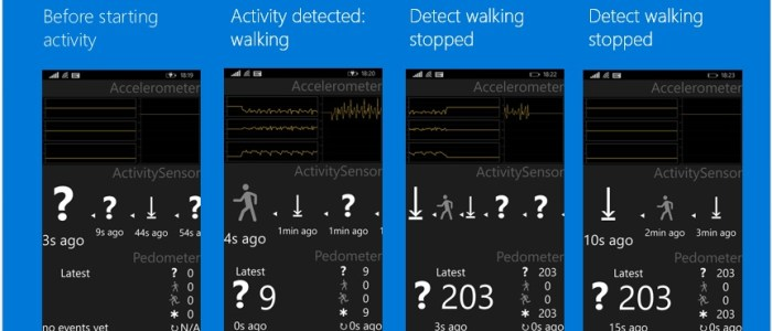 Windows 10 activity detection
