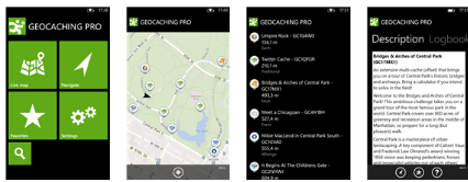 geocaching pro goes free as myappfree app of the day for