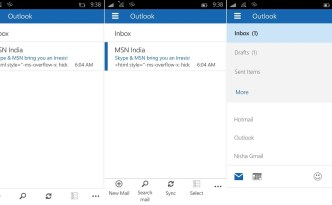 Outlook mail1