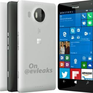 Lumia 950 XL white