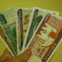 Myanmar money - Kyat!
