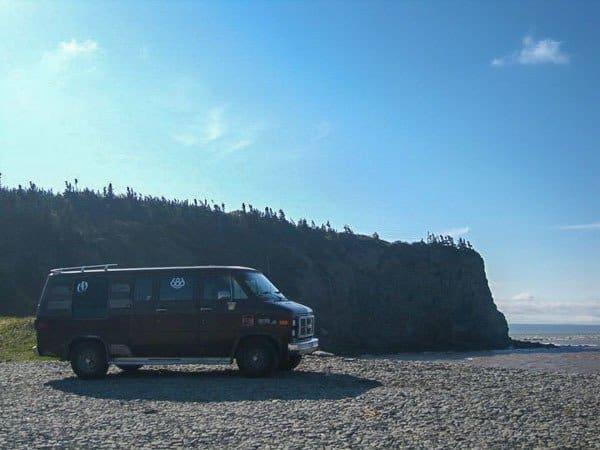 Van New Brunswick Canada Road Trip