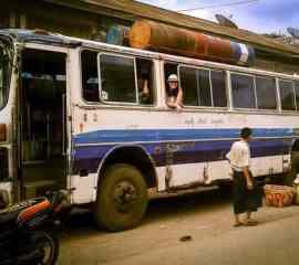 Bus Travel In Myanmar