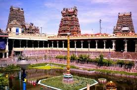 Tourist Places to visit in Madurai  - Meenakshi Sundareswarar Temple