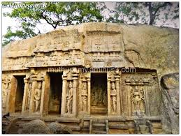 Tourist Places to visit in Mahabalipuram - Trimurti Cave
