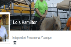 Lois Hamilton's Facebook Page