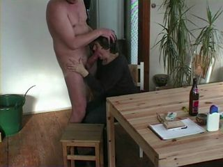 dominant wife shaves husband