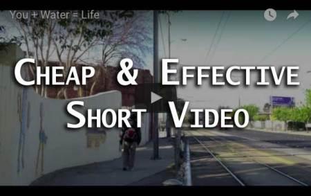 Cheap, Effective, Short Videos