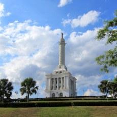 The Monument in Santiago, Dominican Republic