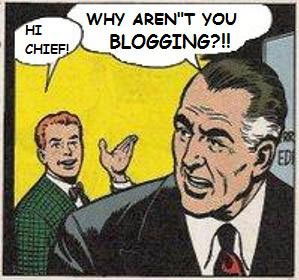 business blogging comic strip