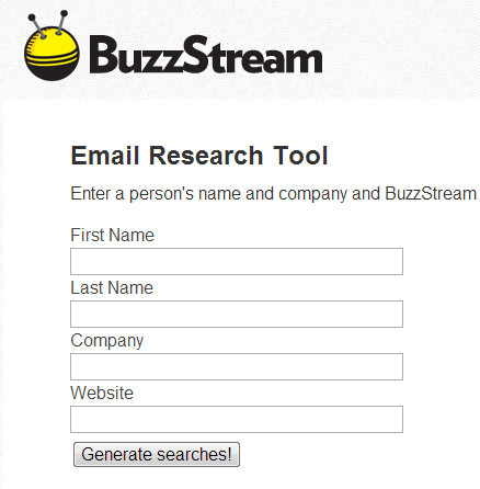 email research tool