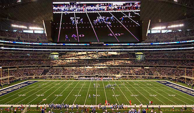 cowboys stadium video screen