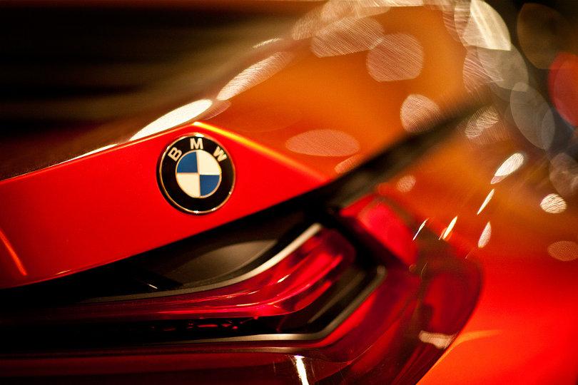 BMW M1 Hommage trademarks