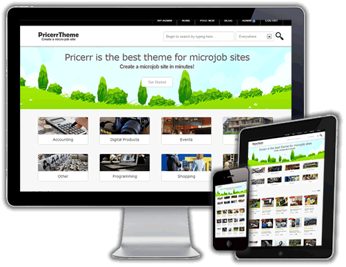 Best Fiverr clone Script theme WordPress