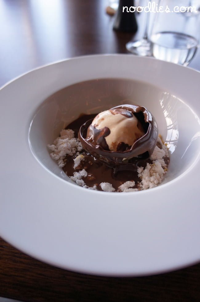 black by ezard chocolate dessert