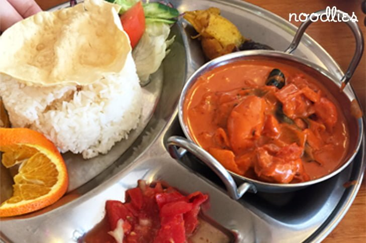 akash pacific cuisine liverpool butter chicken