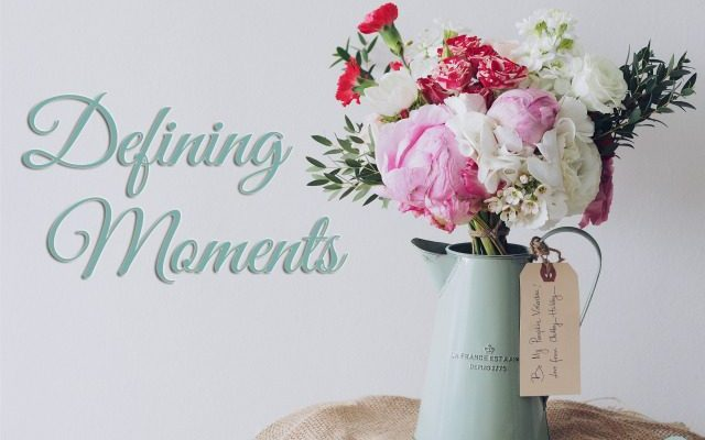 Defining Moments—A Tribute to My Friend