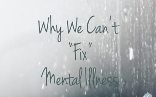 "Why We Can't ""Fix"" Mental Illness"