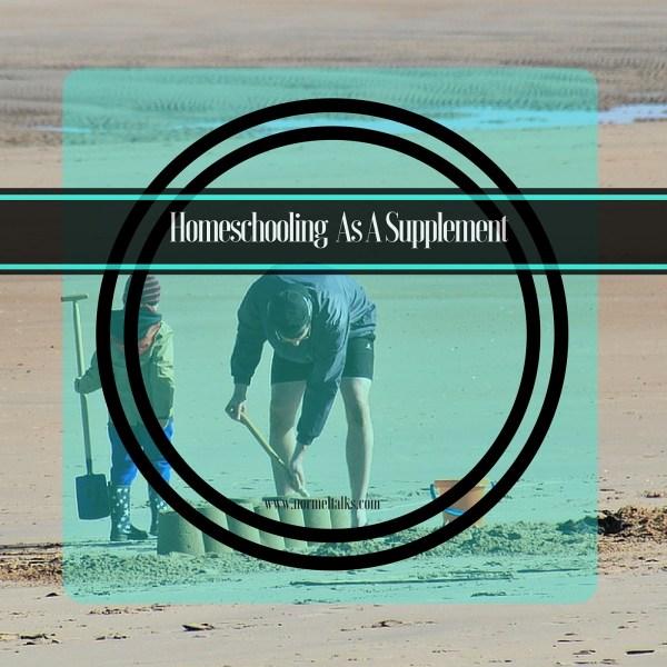 homeschool as a supplement