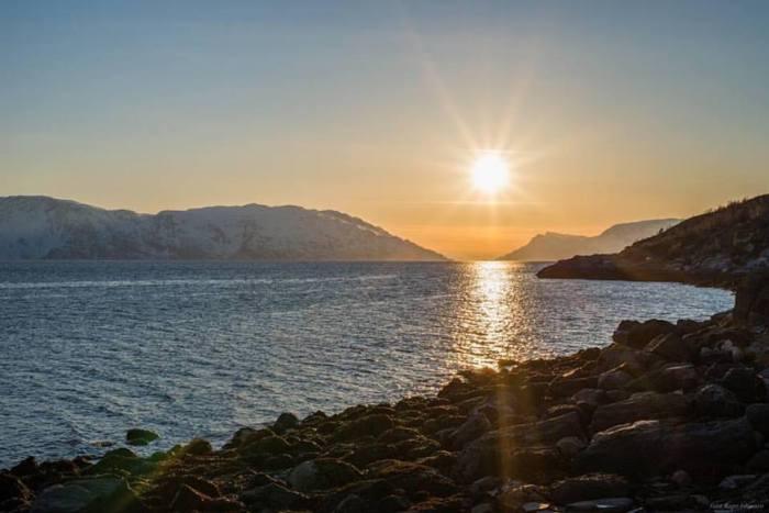 Photo Marianne Knutsen - A 4-star sunrise in April