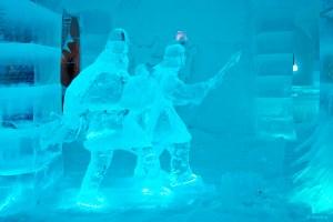 Sorrisniva Igloo Hotel in winter glory
