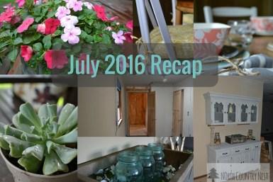 july 2016 recap