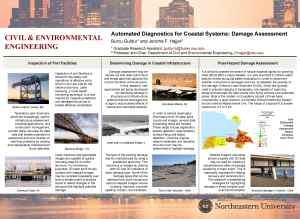 Automated Diagnostics for Coastal Systems Damage Assessment - Burcu Guldur and Jerome Hajjar