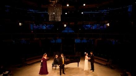 Day of Song2 (Lauren Fielder, Benjamin Lewis, Joanna Norman, Kang Wang with pianist Roderick Barrand) credit Paul Cliff
