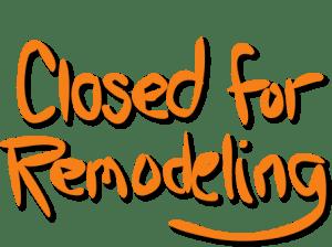 closedforremodeling